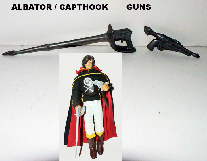 ALBATOR - CAPT WARLOCK GUN ( SOLD BY PAIR )