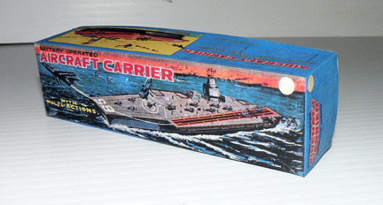 AIRCRAFT CARRIER BOAT ( big box )