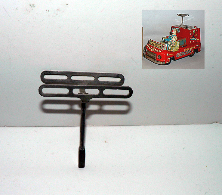 ANTENNA for TV CIRCUS TRUCK ( rare )