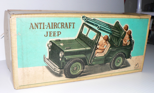ANTI AIR CRAFT JEEP