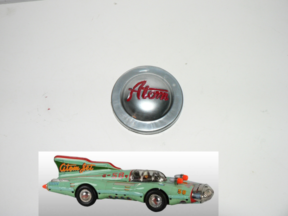 ATOM JET CAR ( the bigger ) sold by pairs $55 - Click Image to Close