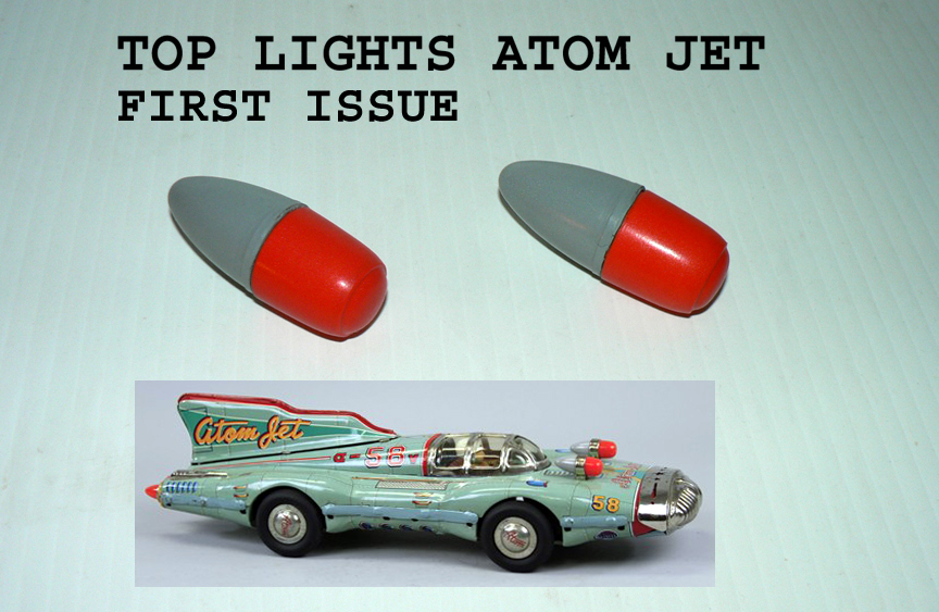 ATOM JET TOP LIGHTS first issue sold by pairs (2)
