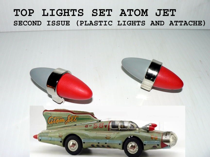ATOM JET TOP attache lights complet SET (2)