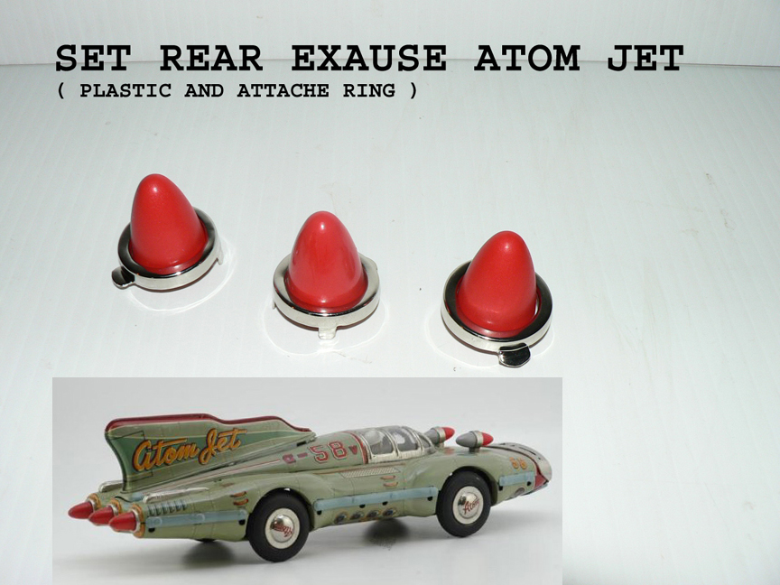 ATOM JET rear attache lights complet SET
