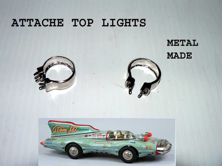 ATOM JET TOP attache lights ( sold by pairs )