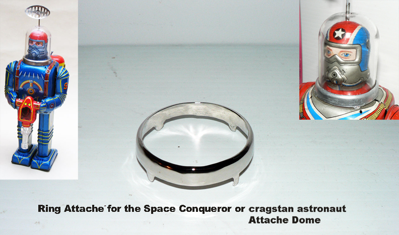RING ATTACHE DOME FOR SPACE CONQUEROR