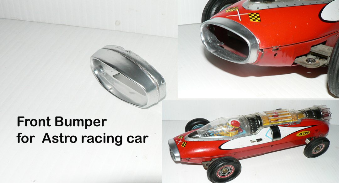 "ASTRO RACING CAR "" FRONT BUMPER """