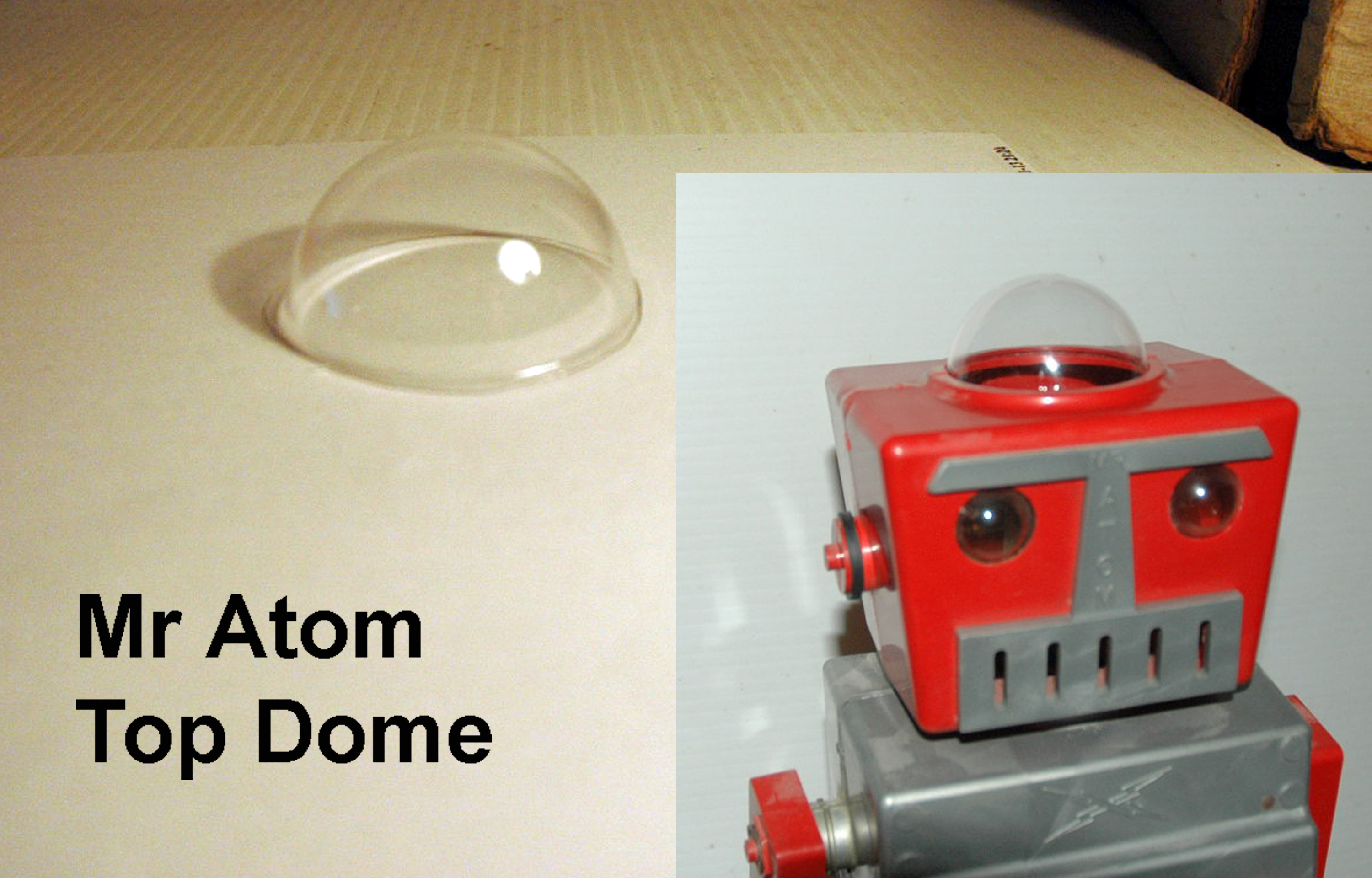Mr Atom Robot DOME