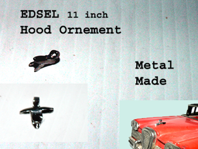 "EDSEL "" HOOD ORNEMENT """