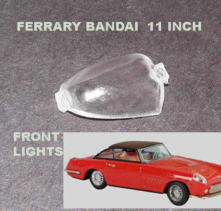 FERRARY DOME FRONT LIGHT 11 inch