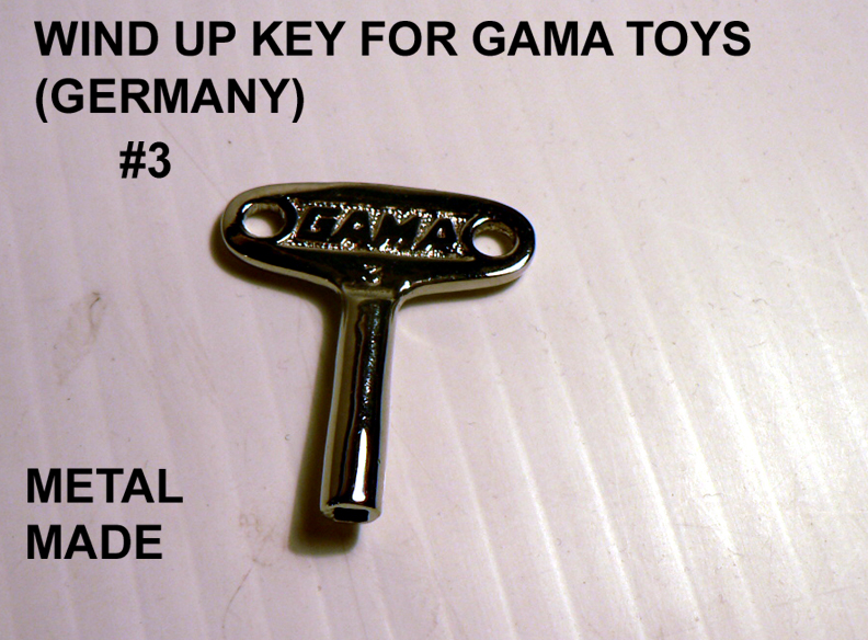 GAMA #3 WIND UP KEY