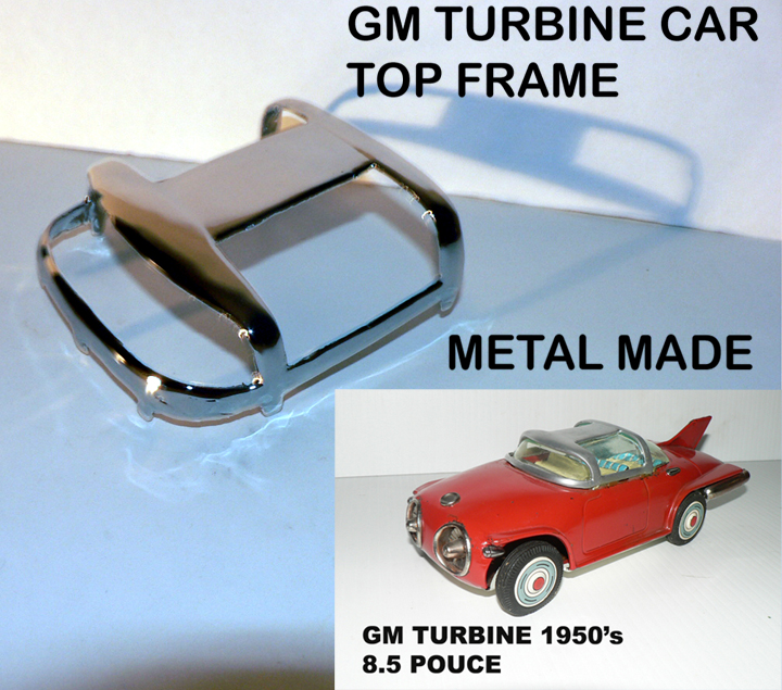 GM TURBINE METAL FRAME