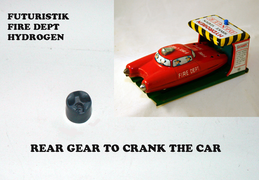 HYDROGENE REAR GEAR ( good for other toys )