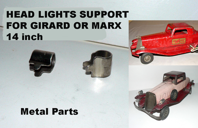 HEAD LIGHTS FOR MARX OR GIRARD 30's CAR