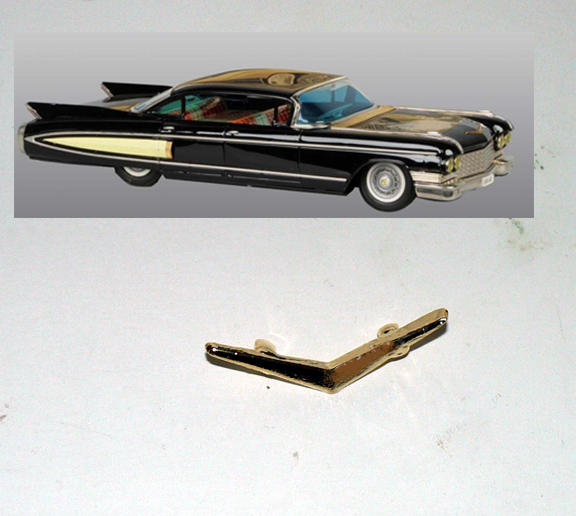 CADILLAC 1960 HOOD ORNEMENT