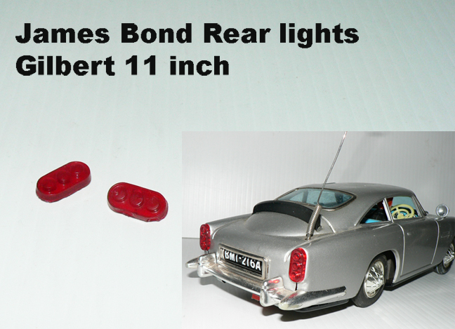JAMES BOND REAR LIGHT