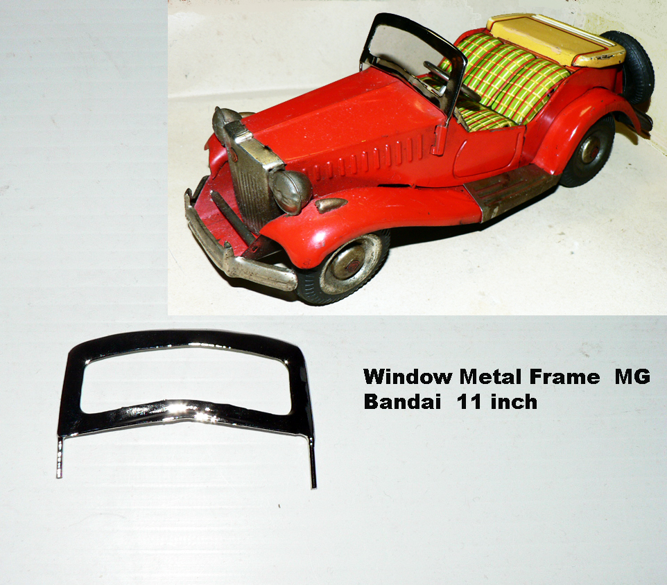 MG CAR WINDOW FRAME for 11 inch Bandai