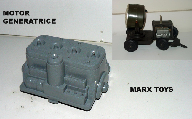 Motor For Army Truck Trailer By Marx Reproparts 25