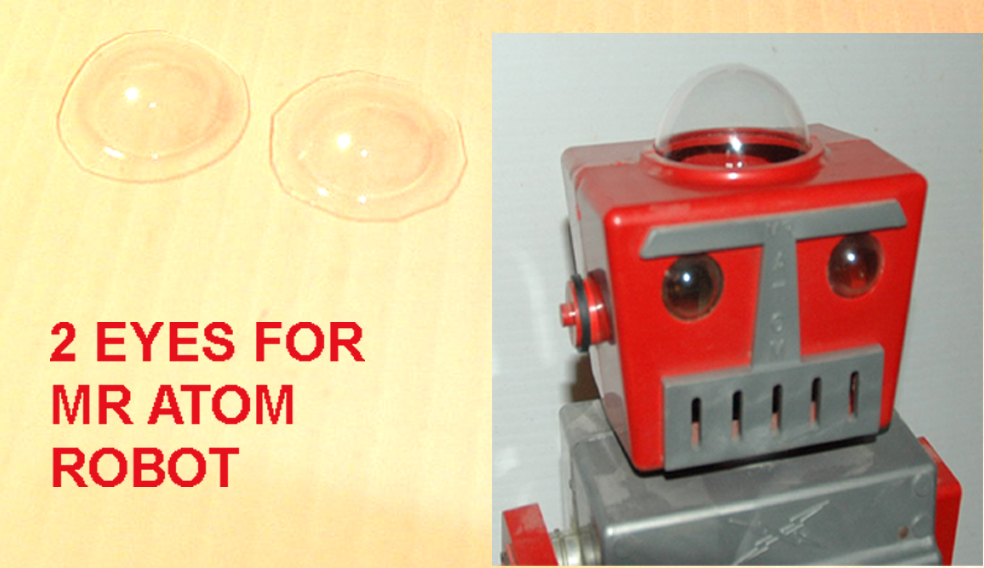 Mr ATOM Robot EYES