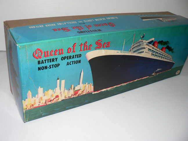 QUEEN OF THE SEA '' big box ''