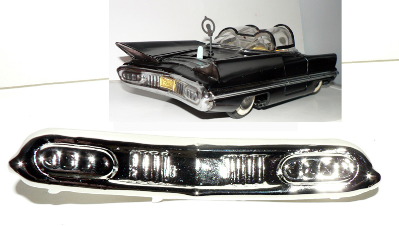 LINCOLN FUTURA REAR BUMPER