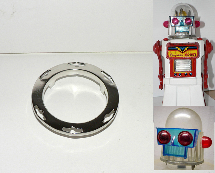 Mr ROBOT RING BASE ATTACHE DOME
