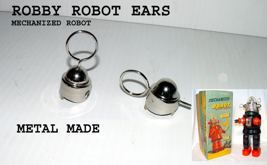 Robby EARS ( sold by pairs ) metal