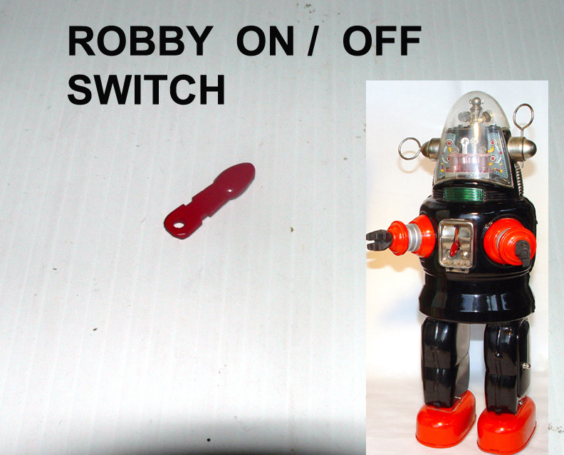 ROBBY ROBOT ON/OFF SWITCH CHEST