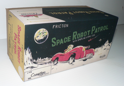 SPACE ROBOT PATROL