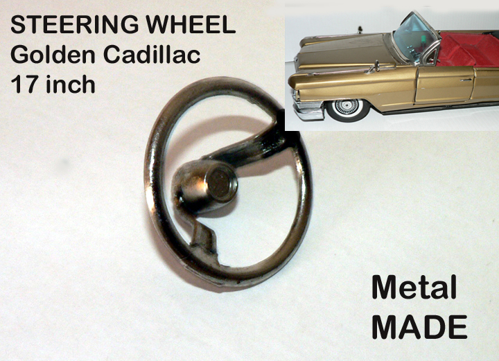 CADILLAC 17 inch Golden convertible (Steering wheel )