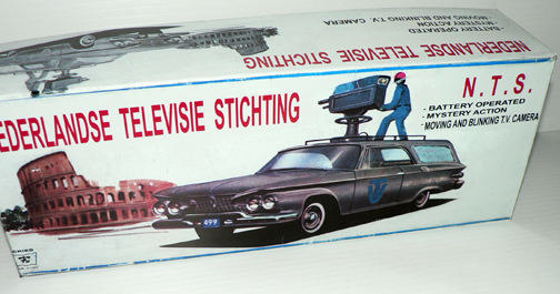 NEDERLANDSE TV CAR ( rare box )