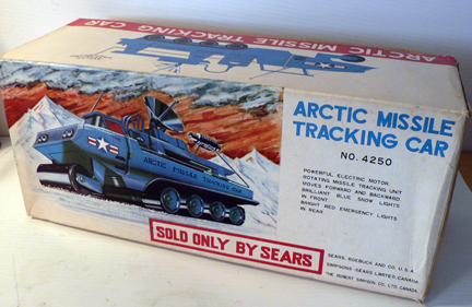 ARTIC MISSILE tracking car