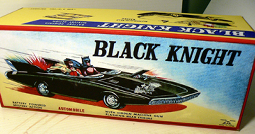 BATMOBILE BLACK KINIGHT