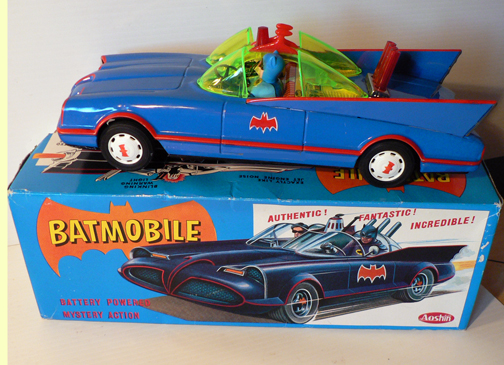 ASC BATMOBILE ( blue version ) Japan