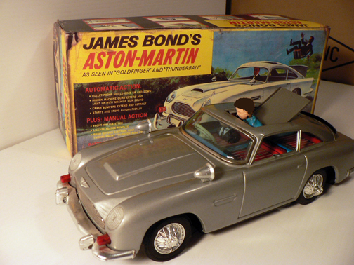 James Bond Car by Gilbert Toys