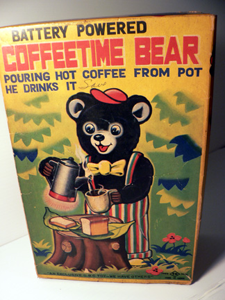 COFFE TIME BEAR