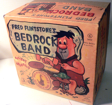 Fred Flintstone's BED ROCK BAND