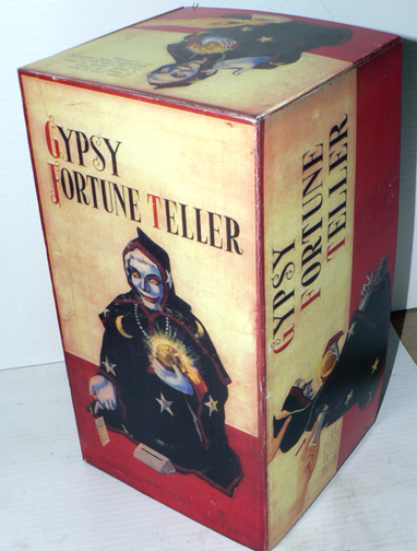 GYPSY FORTUNE TELLER ( rare box )