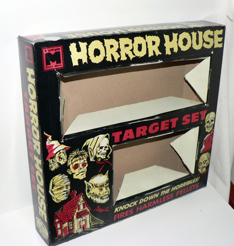 MONSTER HORROR HOUSE GAME MPC 1963