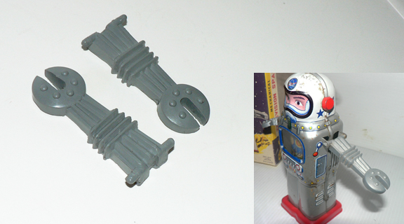 ARMS FOR MECHANICALTV SPACEMAN ( pair )