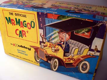MR MAGOO CAR