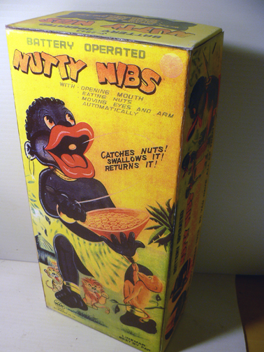 NUTTY NIBS ( rare box )