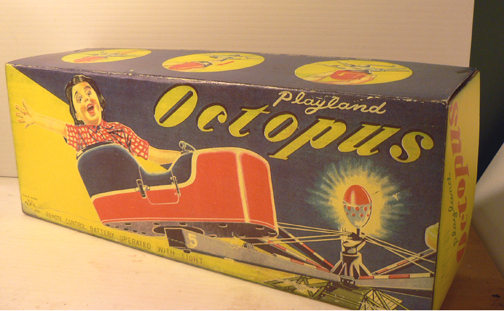 OCTOPUS RIDE ( very rare box )