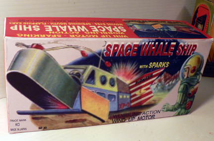SPACE WHALE SHIP