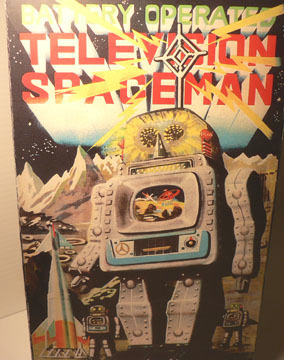TELEVISION SPACE MAN