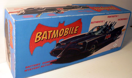 BATMOBILE JAPAN ASC ( Black car ) 1966